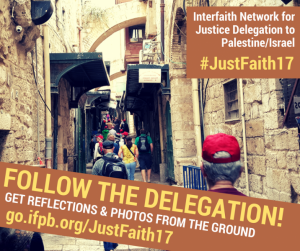 promotional image from 2017 Interfaith Delegation | Presbyterian Peace Fellowship