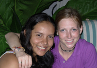 photo of two women from the Colombia Accompaniment Program | Presbyterian Peace Fellowship