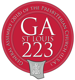 logo for General Assembly St Louis 223 | Presbyterian Peace Fellowship