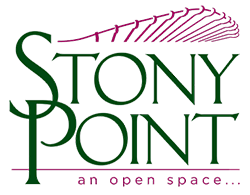 logo for Stony Point | an open space